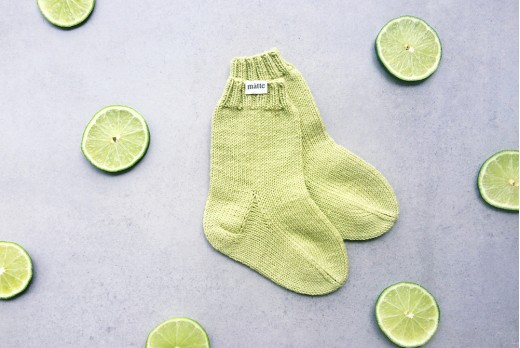 "HAPPY SOCKS ""LIME"""