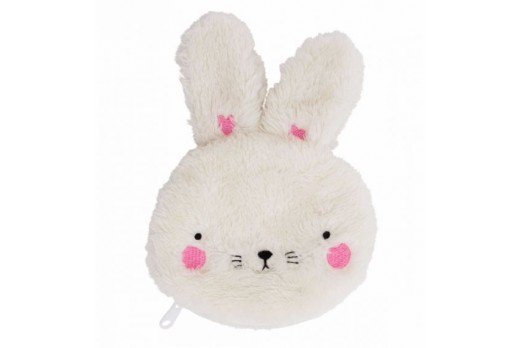 Pocket money purse: Fluffy Bunny