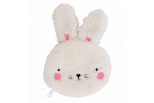 Pocket money purse: Fluffy Bunny